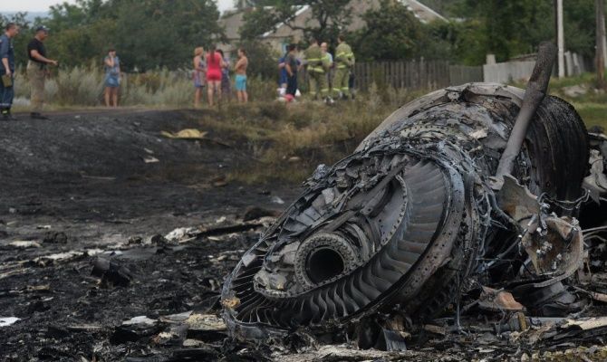 В Украине почтили память погибших в крушении Боинга