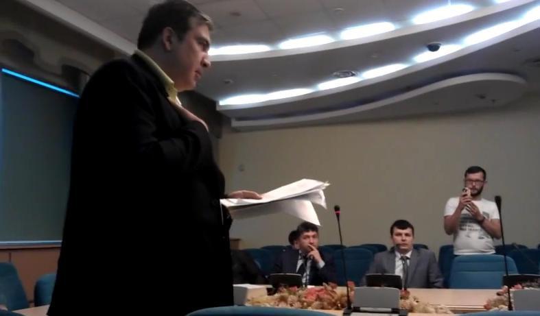 Денис Антонюк призвал ГПУ разобраться в действиях Саакашвили