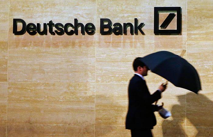 Россияне использовали Deutsche Bank для отмывания средств