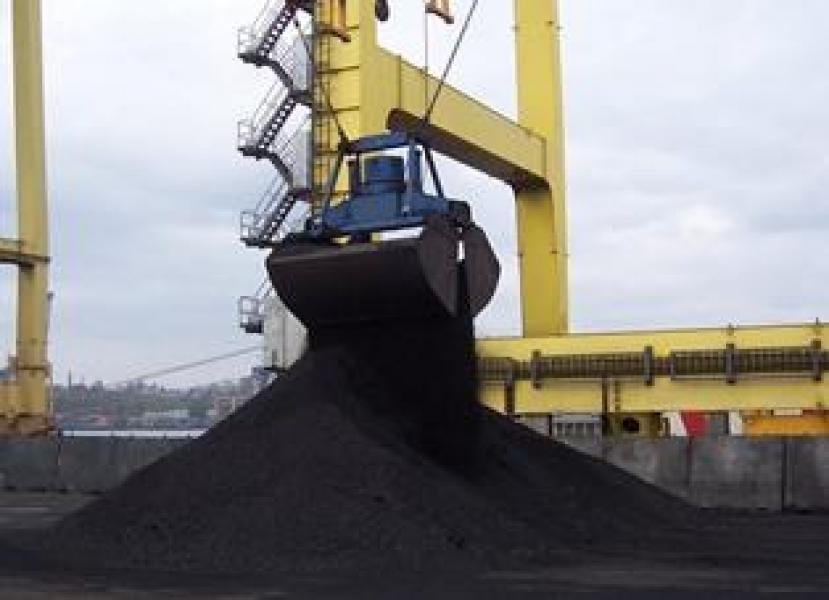 В Ильичевск поступила партия угля из ЮАР