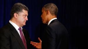 Встреча Порошенко с Обамой
