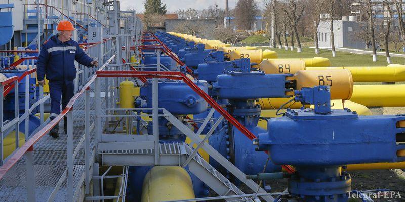 Украина будет пополнять газохранилища при помощи ЕС