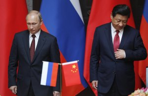 Putin and Xi in Shanghai