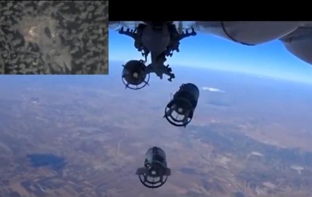 Только 20% бомбардировок России попали в объекты ИГИЛ