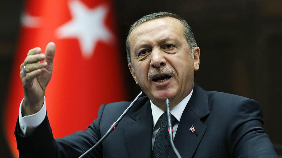 Эрдоган возмущен поведением РФ
