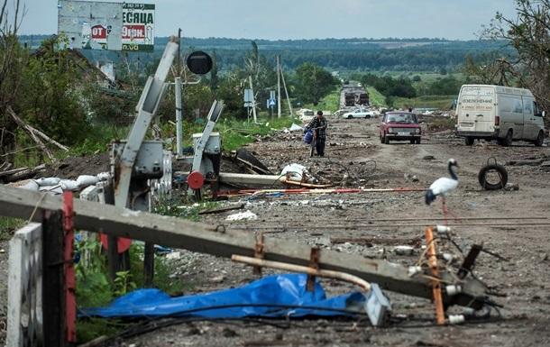Украинцы не будут платить за восстановление Донбасса