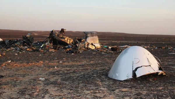 Следователи предполагают, что бомбу на Airbus A321 пронесли сотрудники аэропорта