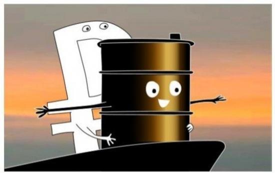 Нефть и рубль вместе упали