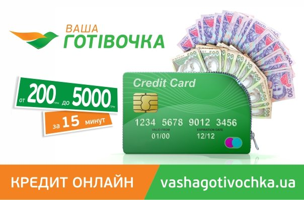 Ваша Готівочка - лучший вариант кредита онлайн