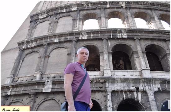 Роман Зиф в Риме