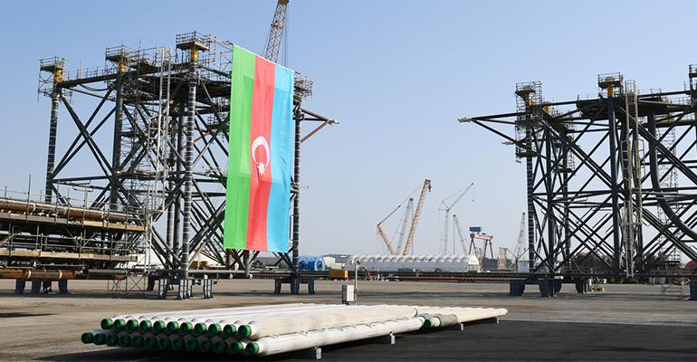 Азербайджан перенес начало добычи газа с месторождения Абшерон на 22г с 21г
