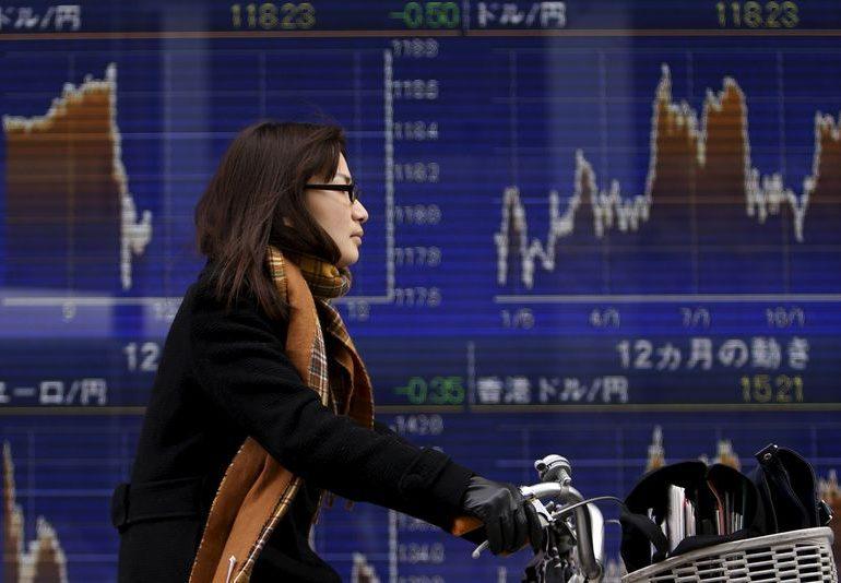 Азиатский рынок смешанный в конце недели