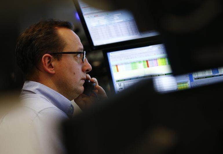Фондовая Европа торгуется на понижательном тренде вслед за падением рынка акций США