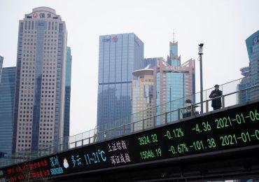 Китайские акции закрылись ростом в надежде на стимулы в США