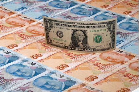 Лира в лидерах падения среди валют EMEA, акции дешевеют