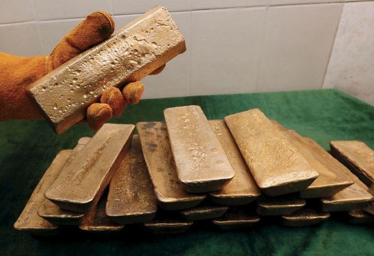 Полюс снизил производство золота в 4 кв на 12% г/г, в 20г на 3%