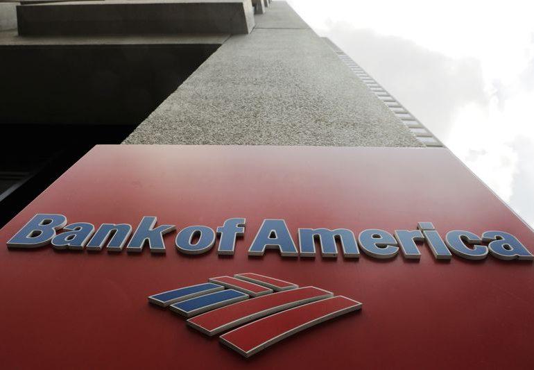 Прибыль Bank of America снизилась в 4кв, но превысила прогнозы