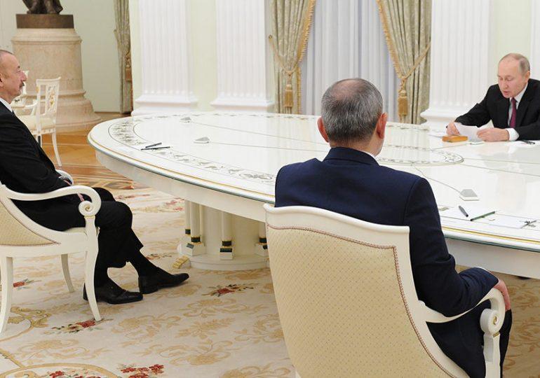 Путин назвал задачи трехсторонней рабочей группы по Карабаху