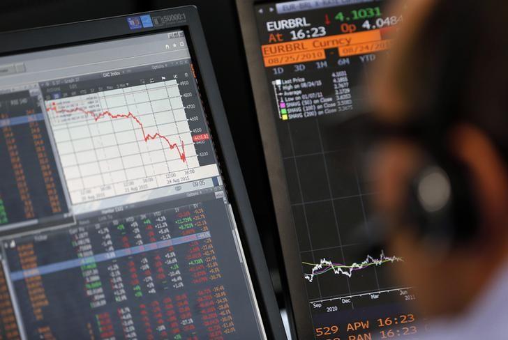 Рынок акций Московской биржи по состоянию на 10:05 мск 28 января снижается