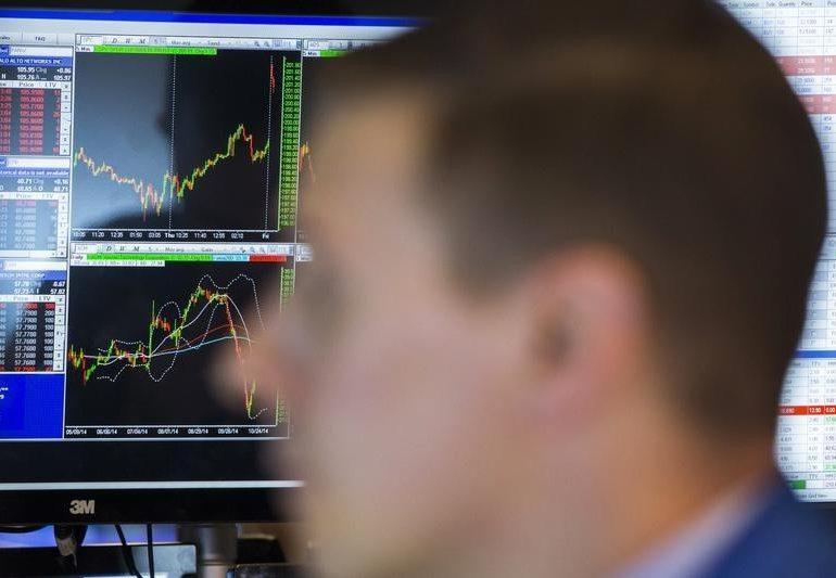 Рынок акций Московской биржи по состоянию на 13:00 мск 14 января растет