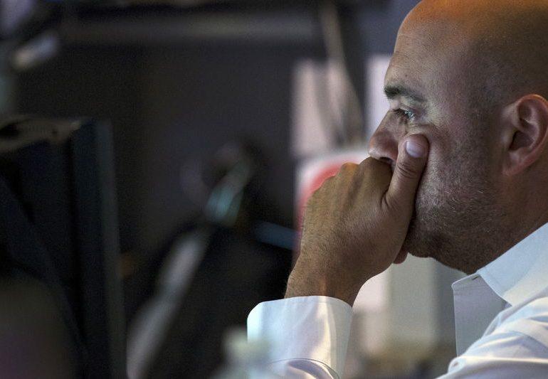 Рынок акций Московской биржи по состоянию на 16:00 мск 13 января снижается