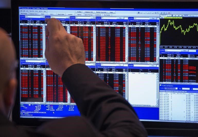 Рынок акций Московской биржи по состоянию на 18:45 мск 14 января растет