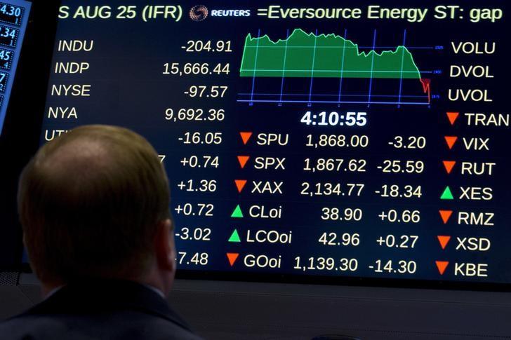 Рынок российских акций завершил торги в минусе