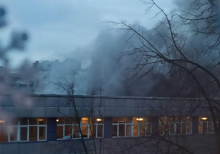 В Санкт-Петербурге из-за оборудования для майнинга загорелось офисное здание